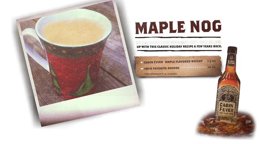Maple Nog. Make this for the holidays. Or anytime.
